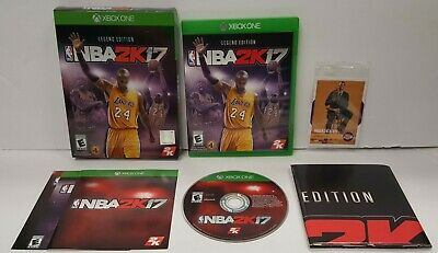 NBA 2K17: Legend Edition - Microsoft Xbox One - Complete - Poster - Card - Nice