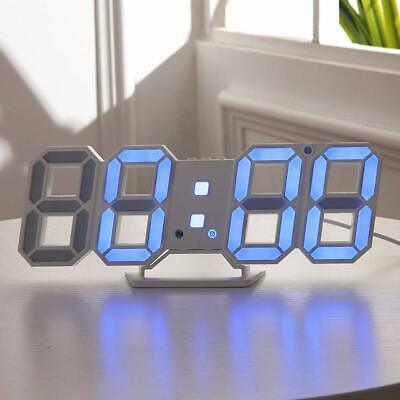 Unique Wall Clocks Decorative Modern Fun Wall Clocks 11 Blue Light Neon Clock