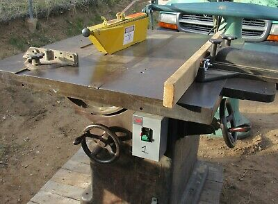 "Oliver Model 270D 14"" Tablesaw - 5 Hp, 3-Phase -Includes The Factory Blade Guard"
