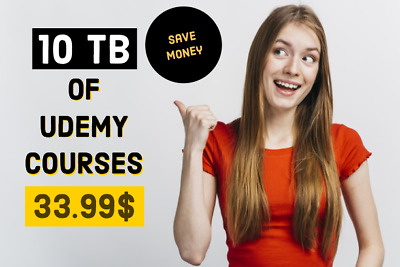 Save Money on 10TB of Udemy Courses worth 100,000$
