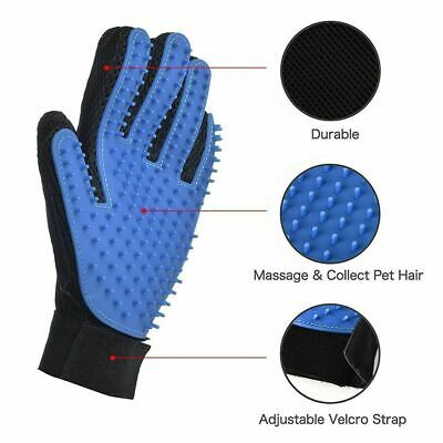 New Pet Dog Cat Grooming Glove Deshedding Brush Fur Remover Mitt for  Right Hand