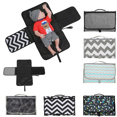 Baby Nappy/Diaper Changing/Change Clutch/Mat/Foldable Pad/Handbag/Wallet/Style-
