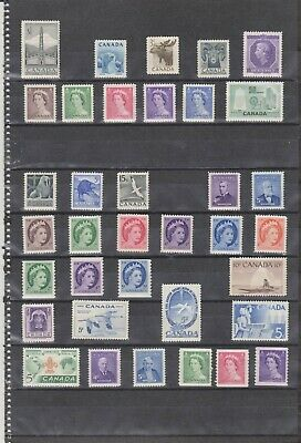 Canada Mint 1953-1959,Year Sets MNH ( 2 Scans )