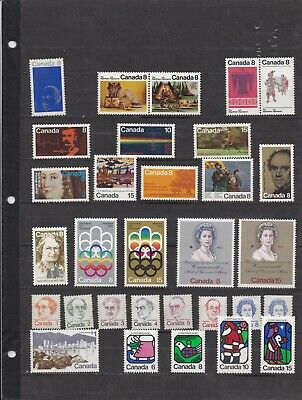 Canada Mint 1973,Year Set MNH ( 2 Scans )