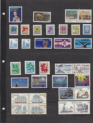 Canada Mint 1977,Year Set MNH ( Face Value $4.10 - 2 Scans )