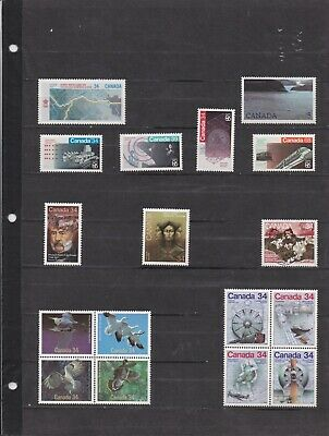 Canada Mint 1986,Year Set MNH ( Face Value $19.38 - 2 Scans )