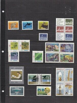 Canada Mint 1988,Year Set MNH ( Face Value $16.72 - 2 Scans )