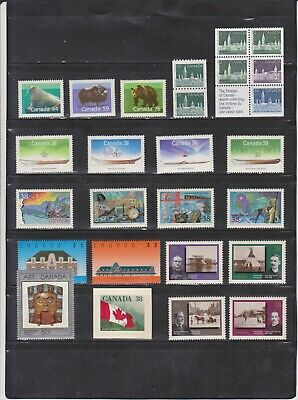 Canada Mint 1989,Year Set MNH ( Face Value $20.25 - 2 Scans )