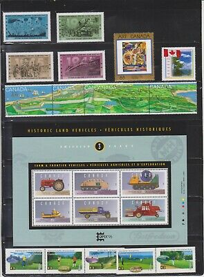 Canada Mint 1995,Year Set MNH ( Face Value $32.56 - 4 Scans )