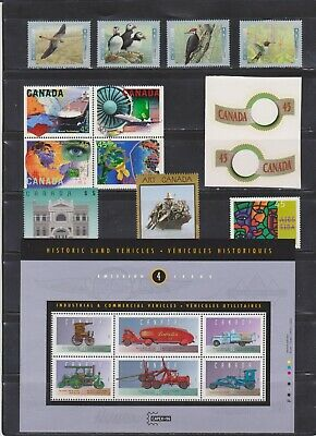Canada Mint 1996,Year Set ( Face Value $36.96 - 4 Scans )