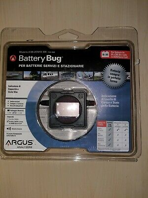 Argus BB-DCM12-300 Battery Bug Deep Cycle Battery Monitor for 100-300Ah Battery