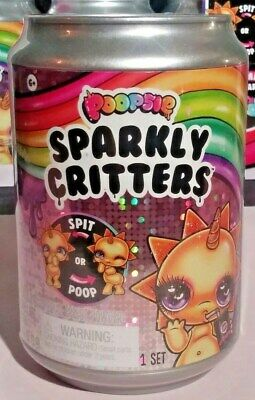 ~ Poopsie Sparkly Critters~ (1) Can ~ Drop 2~ Poop or Spit ~ Slime Suprise~ New