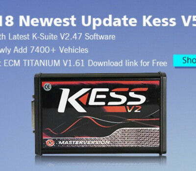 🔔 2020 Unlocked Ksuite V2.53 Software Online KTAG RED KESS V2 V5.017 Unlimited