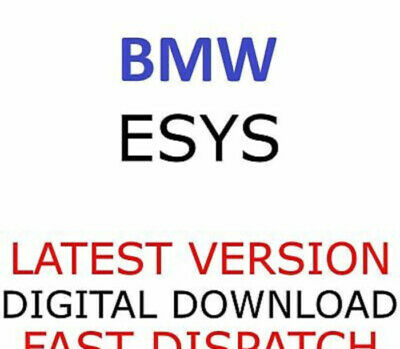 🔔 Bmw E-Sys Esys 3.30.1 Software + Unlimited Token 90 Years + Psdz Data Enet