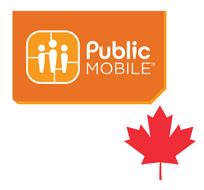◆ ◆ ◆ (Activation Required) Free $10 Credit with Public Mobile SIM Card ◆ ◆ ◆