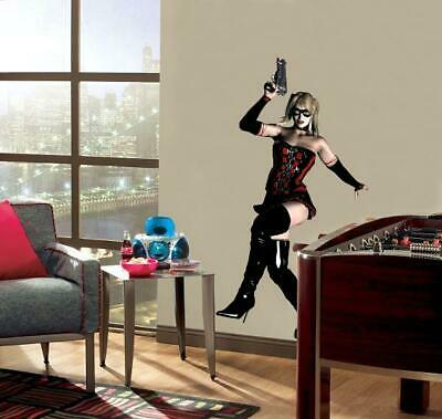 Harley Quinn Decal Removable Wall Sticker Decor Art Mural Joker Batman Arkham