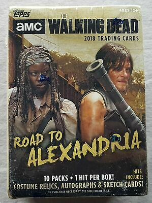 Topps the Walking Dead Road to Alexandria Trading Cards Blaster Box 2018