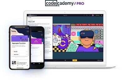 ✔️Code Academy Pro (Annual - One Year) (INSTANT DELIVERY) 1 Year Warranty✔️