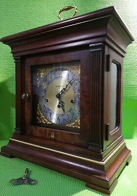 Howard Miller Thomas Tompion TRIPLE CHIME Lg Carriage 612-436 Mantel Clock WORKS
