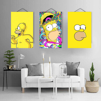 """The Simpsons 24.5/"""" x 36/"""" poster Homer Simpson"""