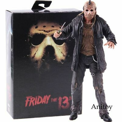 MONDO EXCLUSIVE ED w HEAD Jason Voorhees Friday the 13th LE Mondoid Vinyl Figure