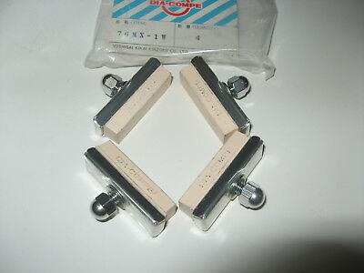 Bicycle Brake pads white cantilever Old School NOS