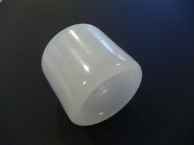 Chinese Hand Carved And Polished White Banded Agate Archers Thumb Ring (Ca12)