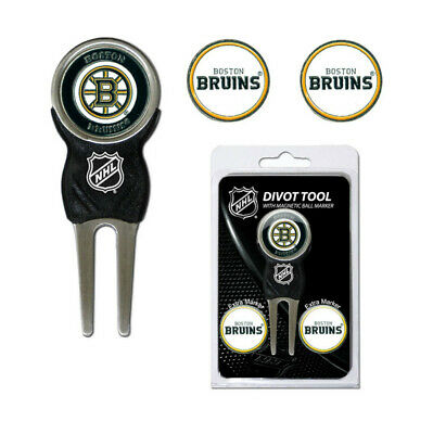 Nuevo Team Golf NHL Boston Bruins Reparación Arreglapiques/Marcadores de Bolas