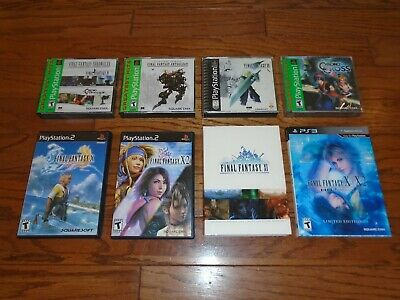 Final Fantasy VII, Chronicles, Anthology, X, X-2, XI HD Remaster PS1 PS2 PS3 RPG