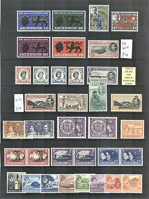 Selection of Commonwealth Stamps MNH & VLH