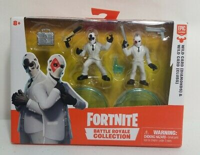 """Fortnite Bataille Royale collection WILD CARD Diamond /& clubs 50D/& 51 C /""""N/"""""""