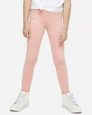 Justice Girls Size 14-16 Sugar Coral Space Dye Full      Length Leggings New