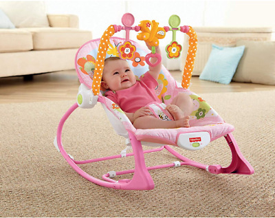 New Infant-to-Toddler Vibrating Chair Sleeper Bouncer For Newborn Baby Seat