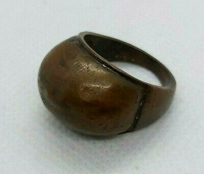 rare ancient bronze ring artifact roman old bronze ring authentic museum quality