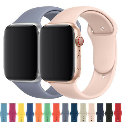 Silicone Sports Band iWatch Strap For Apple Watch 38/40/42/44mm 5/4/3/2 Outdoors