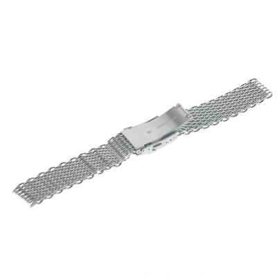 Stainless Steel Dive Shark Mesh Milanese Watch Bracelet Band Strap 18/20/22 A6F7