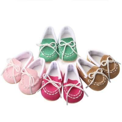 MAGIC GIFT Beautiful Doll Shoes Fits 18 Inch Doll and 2019 43cm baby dolls G6R7