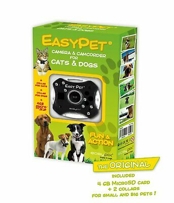 Easy Pet Camera & Camcorder For Dogs & Cats