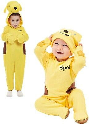 Spot The Dog Toddlers Costume Childrens Film Fancy Dress Outfit Boys Girls Age 1