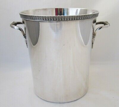 A Fine Vintage Silver Plated Wine Bucket - French - Heavy quality