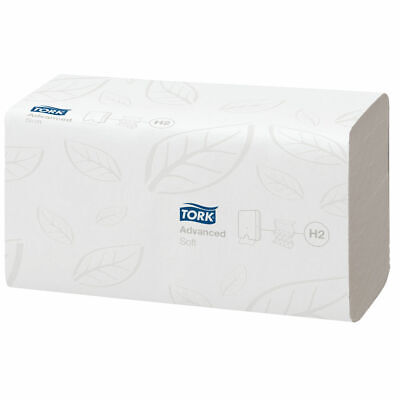 NEW! Tork Xpress Multifold Hand Towel H2 White 180 Sheets Pack of 21 120225