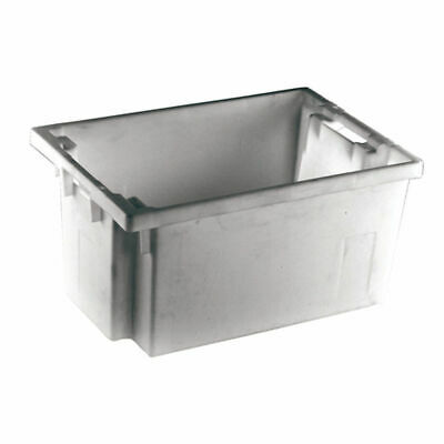 NEW! Solid Slide Stack/Nesting Container 600X400X300mm Grey 382968