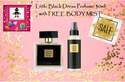 Little Black Dress Perfume; FREE BODY MIST worth £4 - Perfect Gift for Her