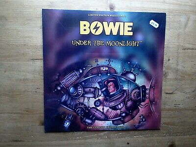 David Bowie Classic Broadcasts Under The Moonlight NEW SEALED WHITE Vinyl Record