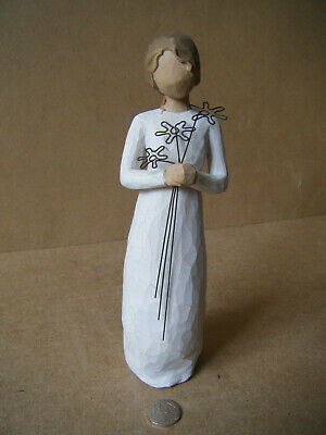 "Collectable ""WILLOW TREE, GRATEFUL"". By Demdaco / Susan Lordi 2004. Unboxed."