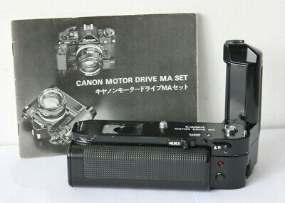 Canon Motor Drive MA & Battery Pack For A-1 AE-1  SLR Film Camera.