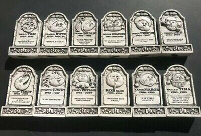 2019 Garbage Pail Kids Revenge Of Oh The Horror-Ible Tombstone Set 12/12 Rare