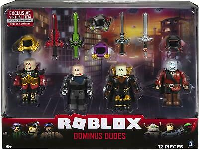 Roblox Dominus Dudes 4 Figure Pack *BRAND NEW*