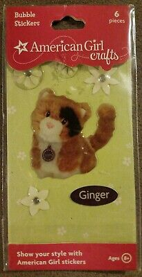 American Girl Doll Crafts Ginger Cat Bubble Stickers