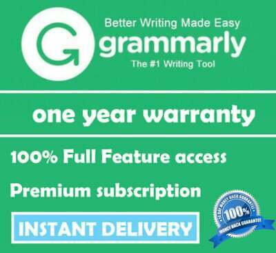 🔥Grammarly Premium|Instant Delivery| 3 Years Subscription| English Education🔥